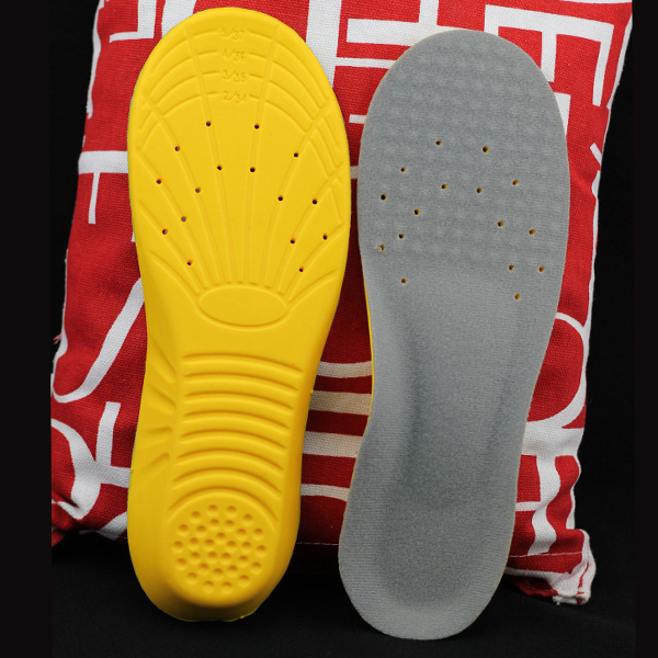 new style da03a aa1c6 Breathable PU Shoes Insert Soft Shock Absorption Insole GK-701